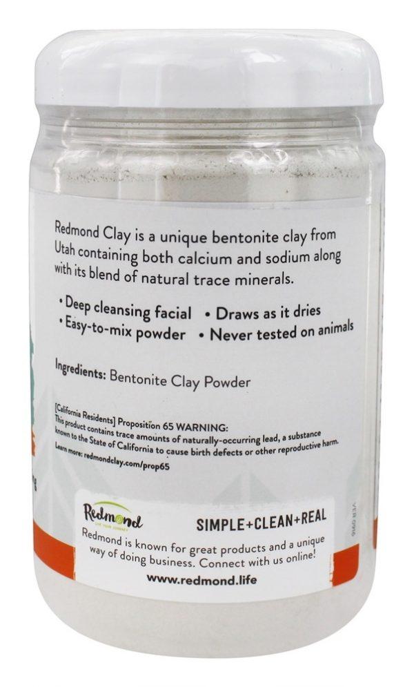 argila cu detoxifiere cu bentonită)